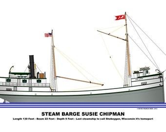 Great Lakes Ship Susie Chipman