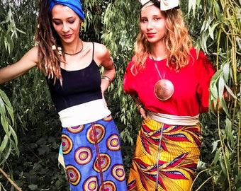 "Jupes Africaines ""MAMAH"" >> CRÉATIONS UNIQUES"