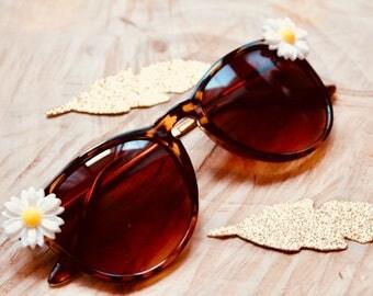 Pin-up flowers sunglasses