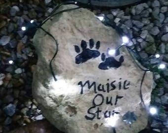 Large Personalised Pet Rocks