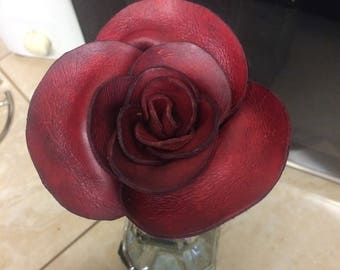 A Leather Rose