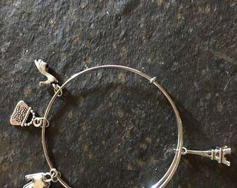 Paris Fashion Bracelet Expandable