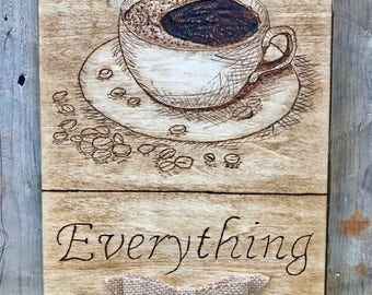 Coffee Over Everything