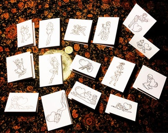 Little Ladies - Cards