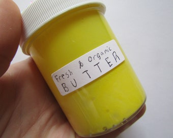 Fresh & Organic BUTTER | Butter Slime | Therapeutic Slime