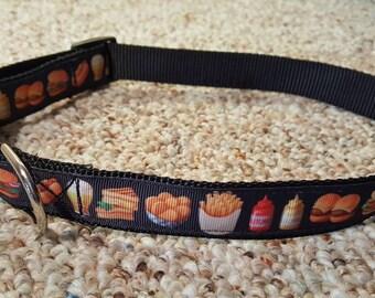 "Fast Food Collar  1"" Collar Fits 15-22"" Neck"