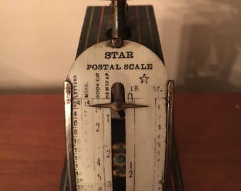 Antique postal scale