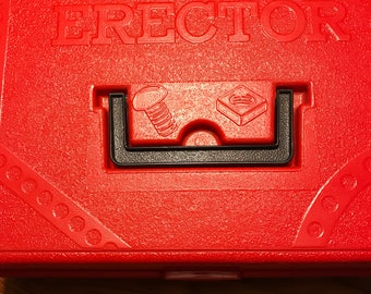 Vintage 1960's Erector Set/ Toys/ Vintage metal Toy