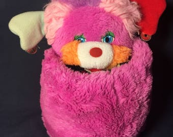 Vintage Punkity The Popple Plush from 1986