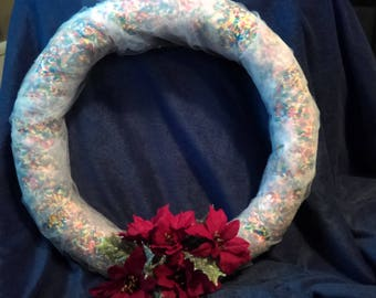 Rainbow Sprinkle Wreath