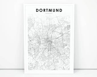 Street map Dortmund Germany pdf