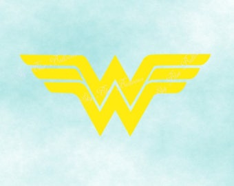 Wonder Woman SVG, Wonder Svg,  Super Hero Svg, Vinyl Cutting File, Superhero DXF File,  Digital File, Cricut, Disney Dxf
