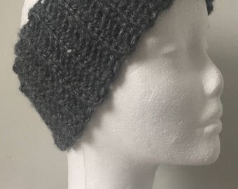 Cozy Grey Headband