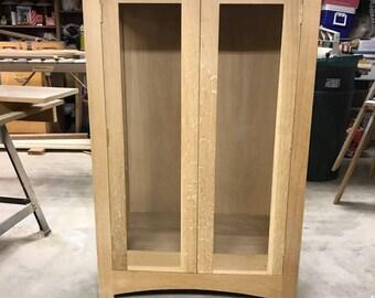 Custom made curio cabinet