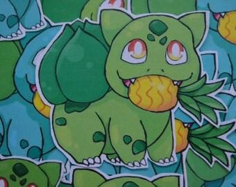 Bulbasaur pokemon stickers