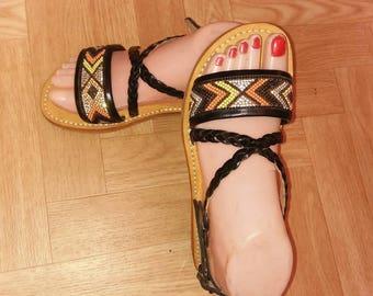Handmade Sandal Moroccan Leather