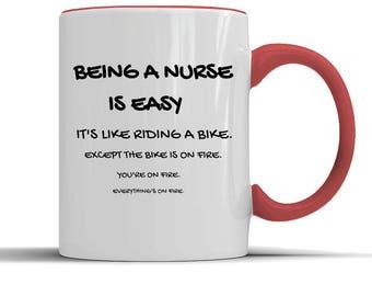 Nurse gift, Nurse mug, Nurse coffee mug, Nurse tea mug, Nurse funny gift, Nursing humour, Nursing jokes, Nursing funny, Nursing student,