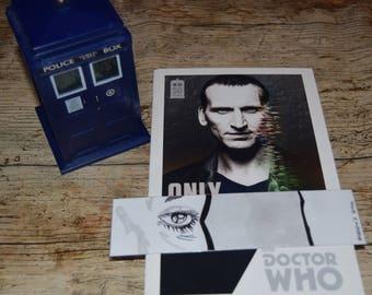 Bookmark simple Thirteenth Doctor / / Simple bookmark Thirteenth Doctor