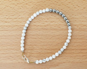 Nilaveli Bracelet - White Howlite