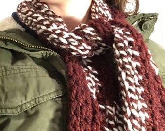 Finger Knit Scarves 2.0