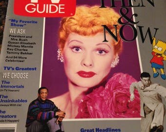 Group of 4 Lucille Ball Magazine Covers 1989, 1991