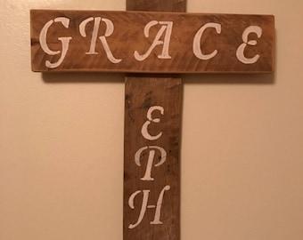 Beautiful Handmade wooden cross