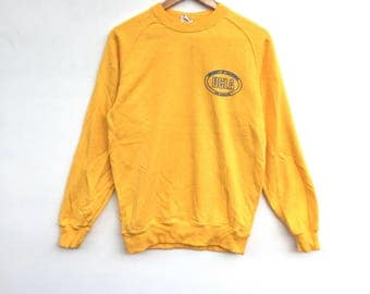 Rare!! Ucla Sweatshirt big logo Spell Out Pull Over