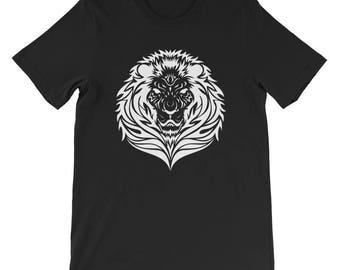 Lion Head Short-Sleeve Unisex T-Shirt