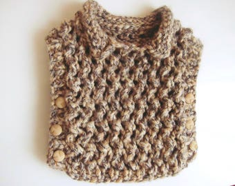 Kuzzy Design Authentic Girls Vest,1/2/3/4/5/6/7 years Hand knit girls vest, knit vest,
