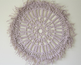 Sun Macrame Wall Hanging - Modern Rope Exclusive Design - Bohemian & Indian Furniture Home Decor - Free Shipping