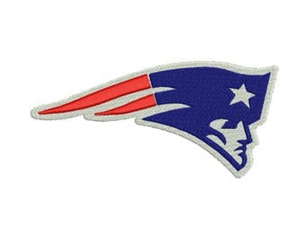 New England Patriots Embroidery design 7 Size INSTANT download machine embroidery