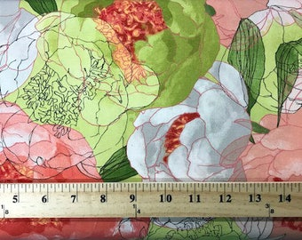 Moda, Blushing Peonies, Robin Pickens, Quilting Fabric