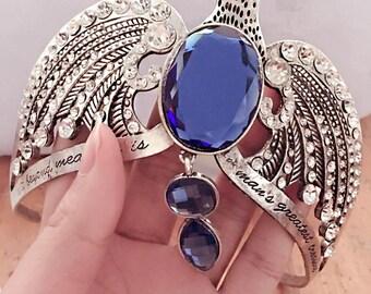 Rowena Ravenclaw's Lost Diadem Hermione Jane Granger The Eagle Crown Horcrux Bridal Hairbands Crystal Headbands Wedding Jewellery