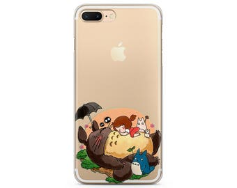 iPhone 8 case hayao miyazaki iPhone 7 plus case spirited away case iPhone 7 totoro case iPhone 6 plus case studio ghibli case iPhone X case