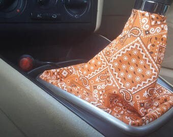 Orange Bandana Shift Boot