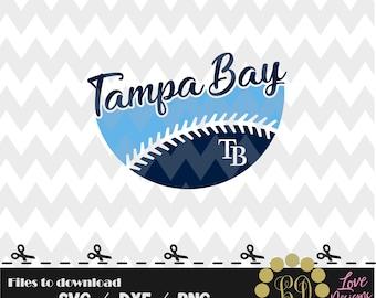 Tampa Bay Ball svg,png,dxf,cricut,silhouette,jersey,shirt,proud svg,birthday,invitation,sports,cutting,baseball,softball,rays,florida