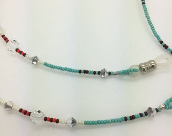 SEDONA Beaded eyeglass chain