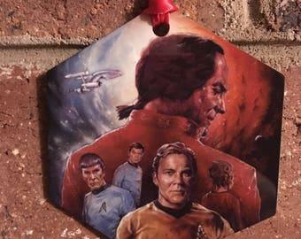 Star Trek Space Seed The Wrath Of Khan Christmas Ornament
