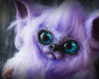FREE SHIPPING WorldWide! OOAK Poseable Art Doll, Fantasy Creature