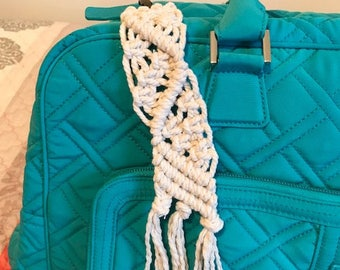 Macrame Key Chain Zipper Pull