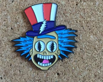 Rick Sanchez x Grateful Dead Pin
