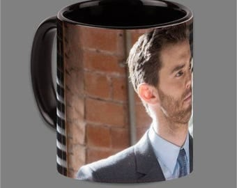 Dakota Johnson Jamie Dornan Coffee Cup Fifty Shades #0004