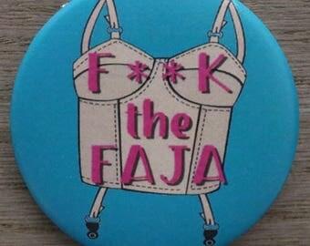 Large Faja Button