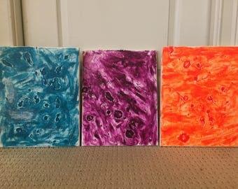 3 Splatters