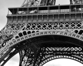 Eiffel Tower, Paris.  Detail