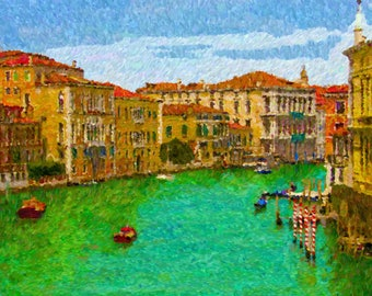 Grand Canal, Venice 20 x 30 Canvas Print