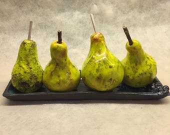 Handmade Ceramic Decorative Pear