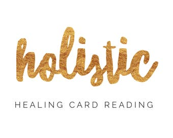 Holistic Healing Card Reading