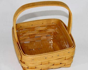 Longaberger Small Berry Basket with Protector