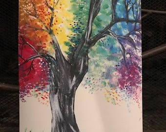 Technicolor Tree